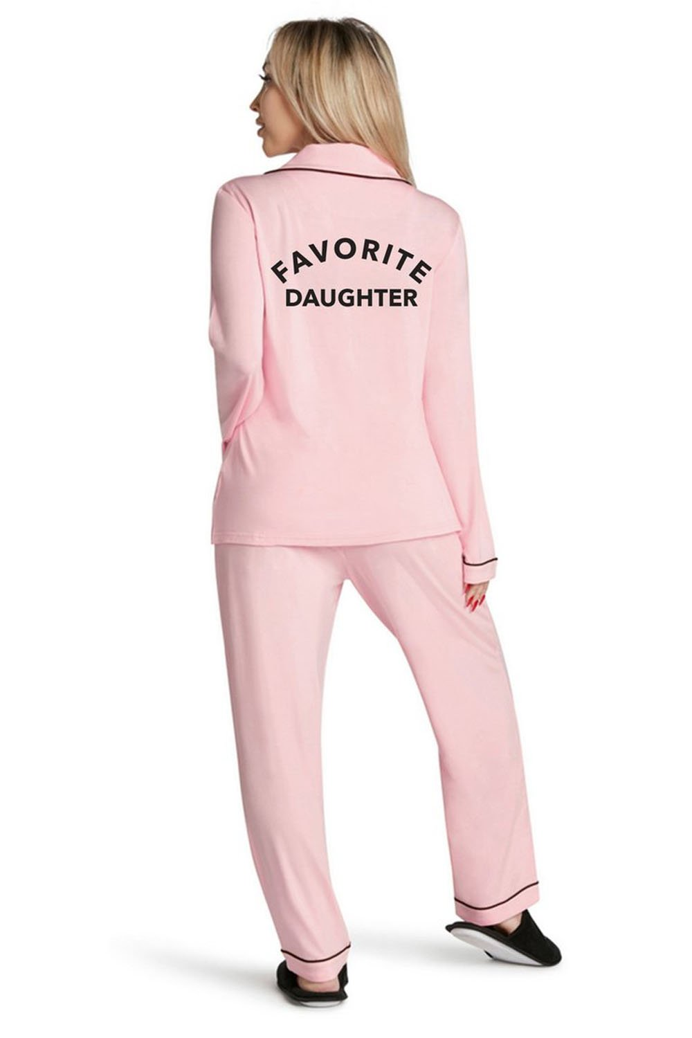 Lightweight Pink Pajama Set-Favorite Daughter