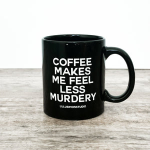 Murder Coffee Mug