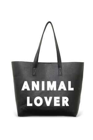 The Vegan Tote-Animal Lover