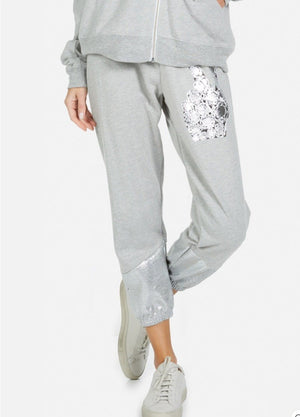 Foil Diamond Peace Pants