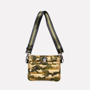 Bum Bag/ Cross Body Shiny Gold Camo