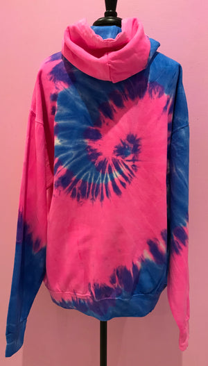 Women doing whatever tie dye hoodie