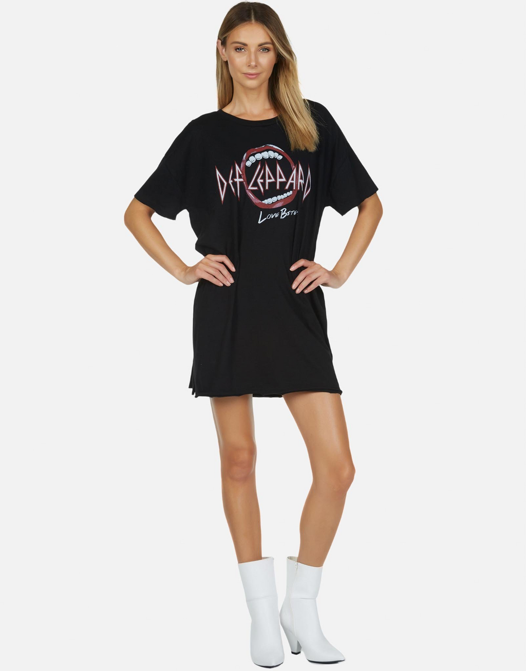 Oversized Def Leppard T Shirt Drop