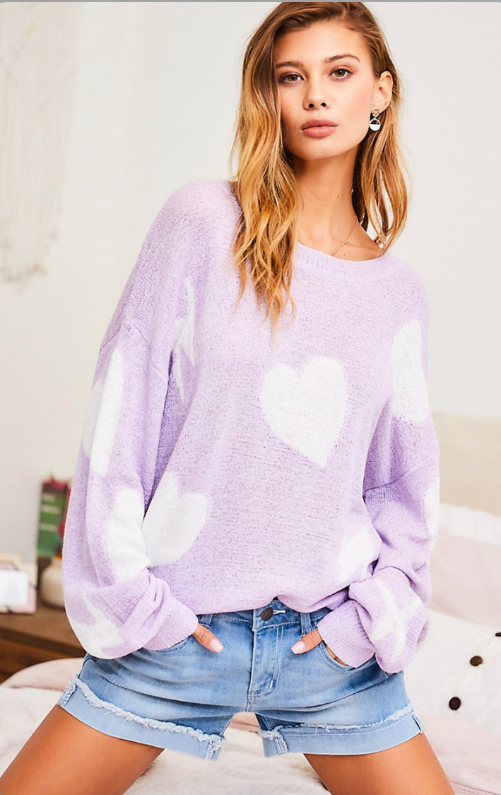 Hearts and Bolts Sweater
