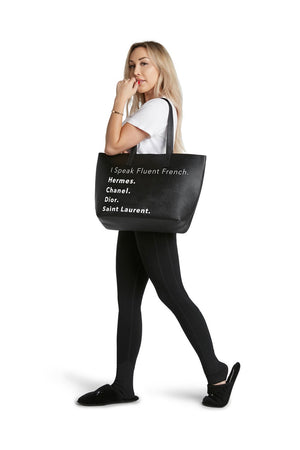 The Vegan Tote-Fluent French