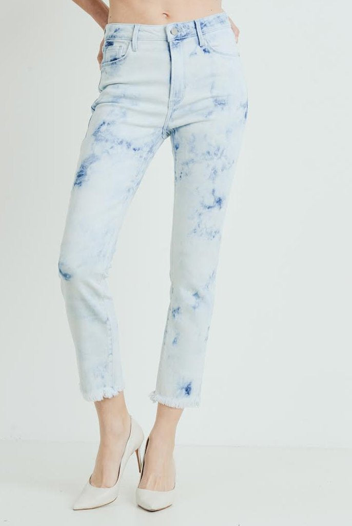 Just Black Denim Tie Dye Skinny Jean