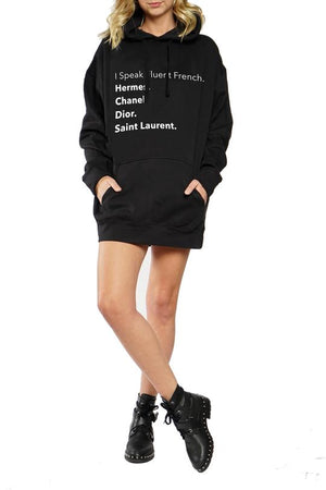 Fluent French Hoodie
