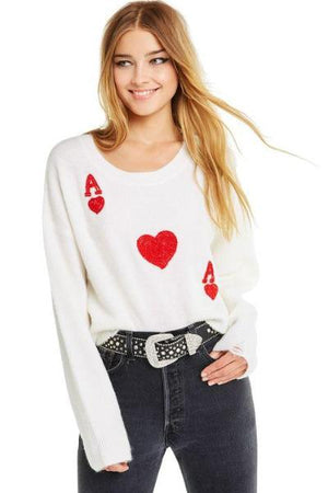 Queen Of Hearts Claude Sweater