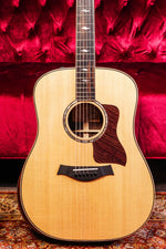 Taylor 810EDLX Dreadnought Acoustic Electric Guitar Natural