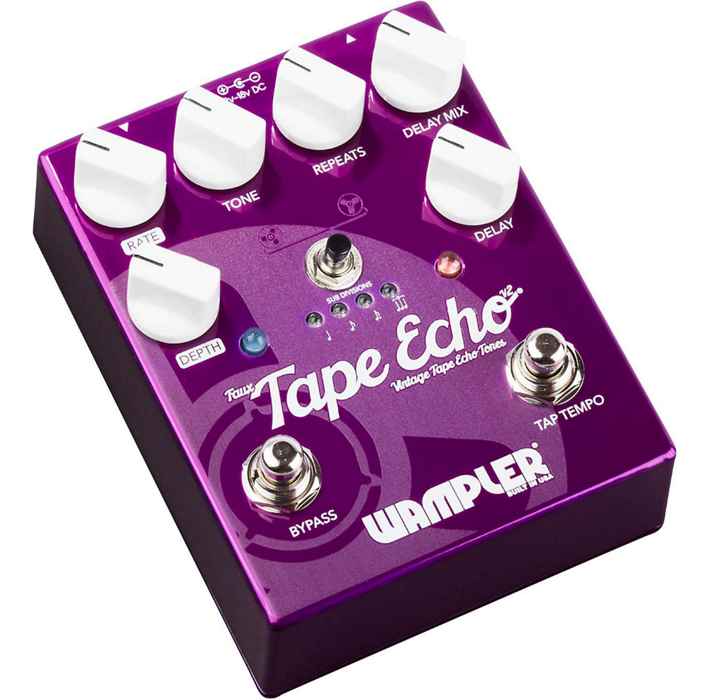Wampler Pedals Faux Tape Echo Delay Guitar Effects Pedal