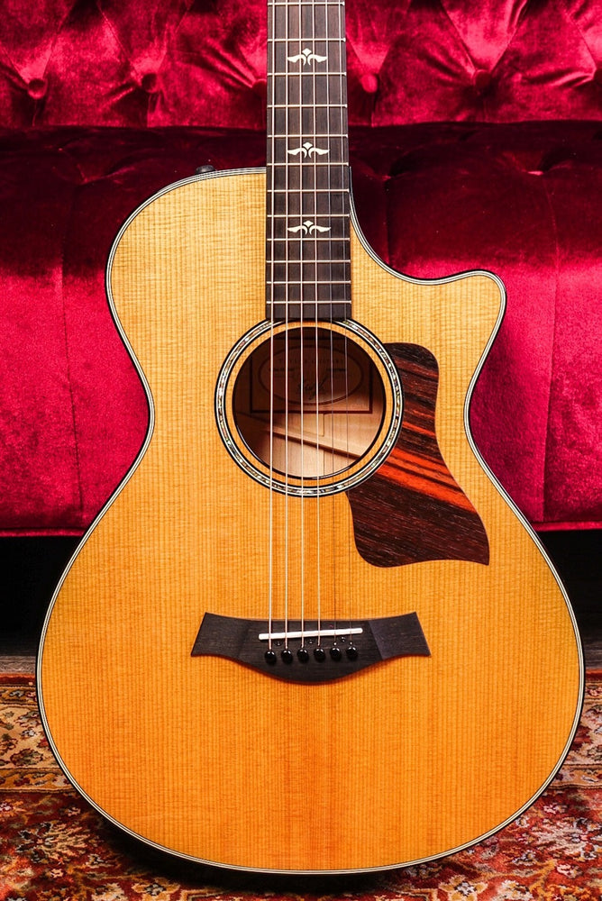 Taylor 612CE 12-Fret Grand Concert Cutaway Acoustic Electric Natural