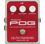 Electro Harmonix Micro Pog Polyphonic Generator Guitar Effects Pedal