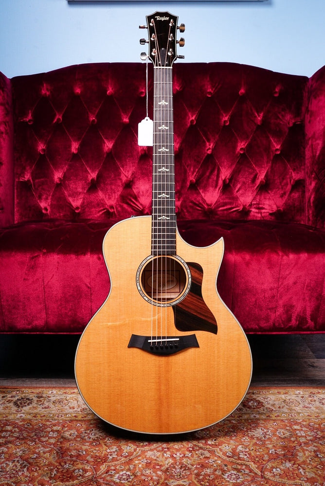 Taylor 2018 600 Series 616ce Grand Symphony Acoustic Electric Guitar Natural
