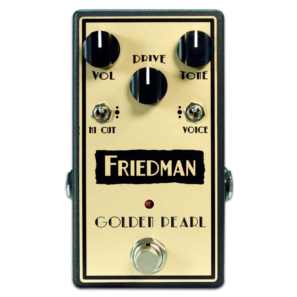 Friedman Golden Pearl Overdrive Effects Pedal