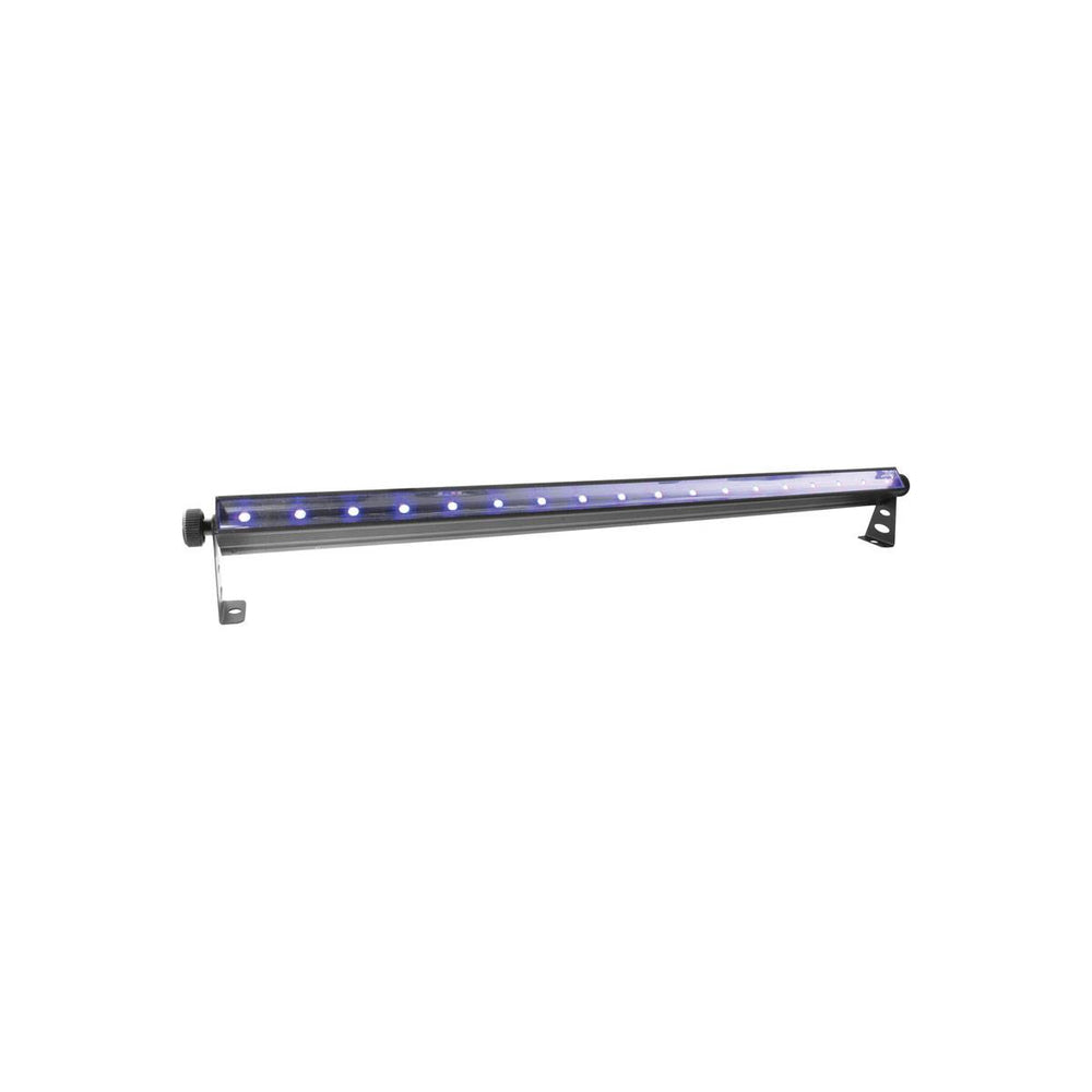 4 x CHAUVET SlimSTRIP UV-18 IRC Ultraviolet LED Wash Light, 3 DMX Channels, 3-pin XLR DMX Connectors. 4 Pieces Package Deal
