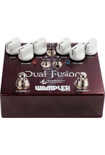 Wampler Dual Fusion Tom Quayle Signature Dual Overdrive Guitar Effects Pedal