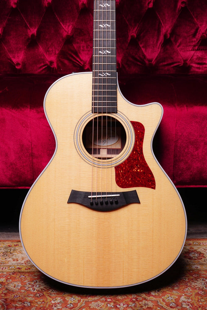 Taylor 400 Series 412ce-R Rosewood Grand Concert Acoustic Electric Guitar Natural