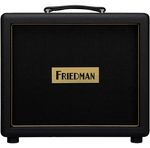 Friedman Pink Taco 1x12 Close-Back Guitar Speaker Cabinet W/Celestion Creamback Black