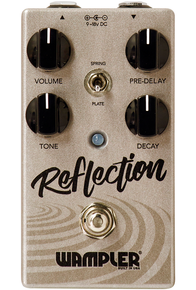 Wampler Reflection Reverb Guitar Effects Pedal