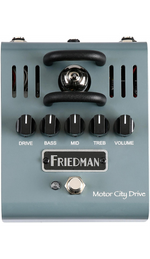 Friedman Motor City Tube Overdrive Guitar Effects Pedal