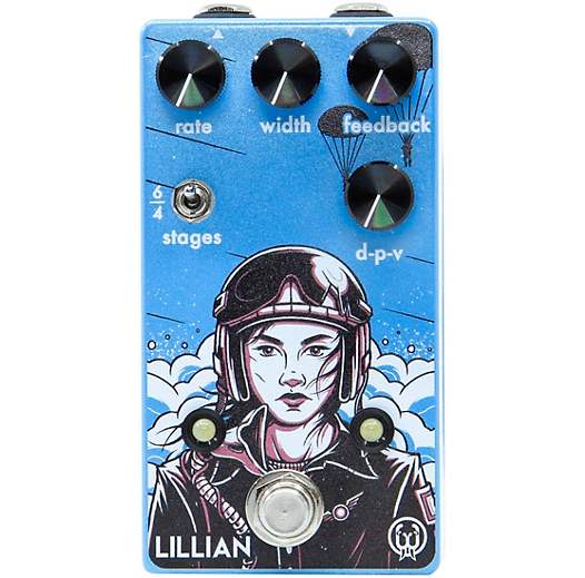 Walrus Audio Lillian Analog Phaser Effects Pedal
