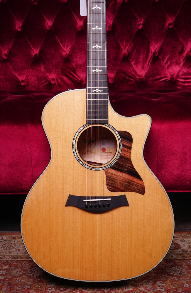 Taylor 2018 600 Series 614ce V-Class Grand Auditorium Acoustic Electric Guitar