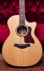 Taylor 814ce V-Class Grand Auditorium Acoustic Electric Natural