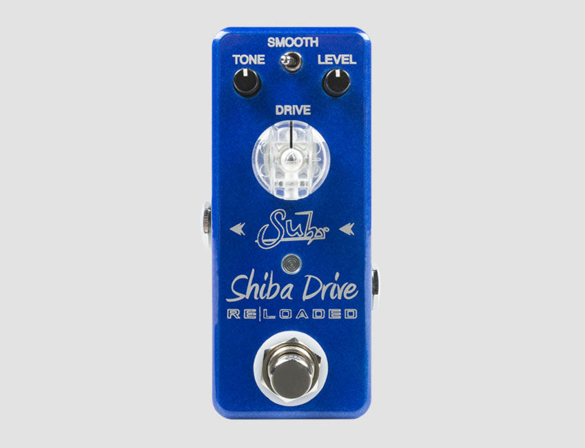 Suhr Shiba Drive Reloaded Mini Overdrive Effects Pedal