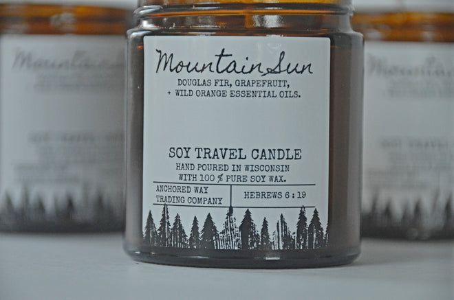 Soy Travel Candles