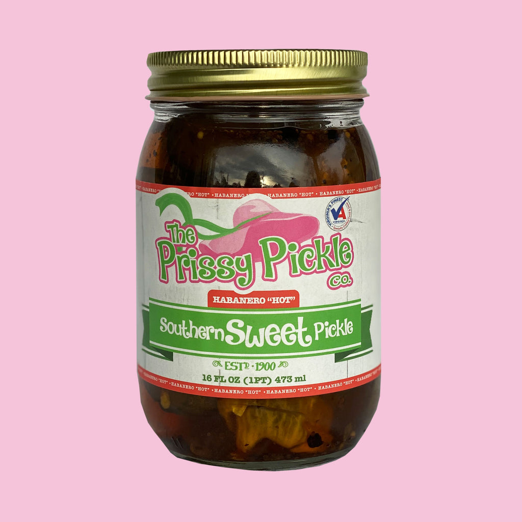 Southern Sweet Pickles with Habanero
