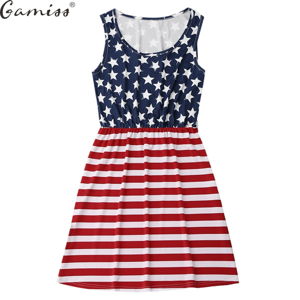 4th of July Mini Dress
