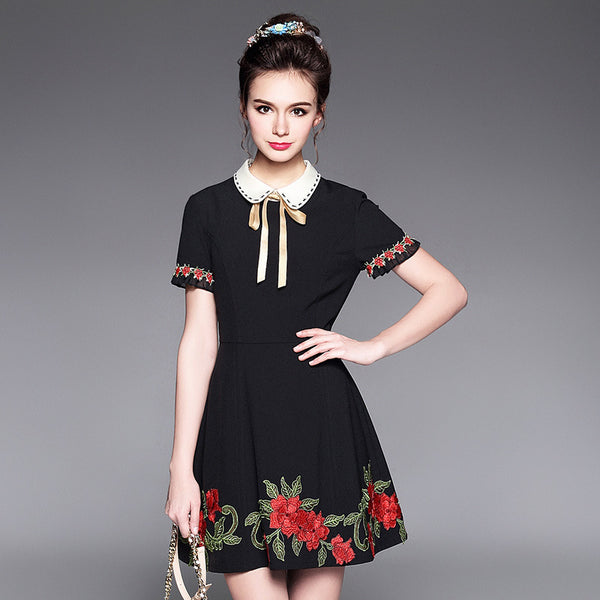 Embroidery Dress High End Style