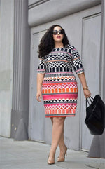 Plus Size Confident Dress