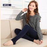 Sexy Thick Cashmere Winter Leggings Warm Pants Slim High Elasticity