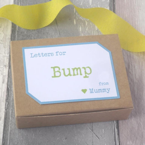 Mum To Be Pregnancy Gift Keepsake Letters by Paperbuzz