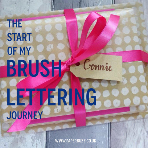 Brush lettering blog post