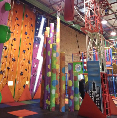 Ravenscraig activity centre, greenock, glasgow, climbing walls, x height