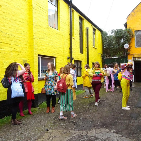 Glasgow Colour Walk with In Colourful Company