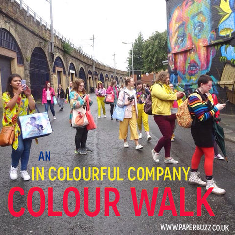 An In Colourful Company Colour Walk, Glasgow - A blog post by Paperbuzz