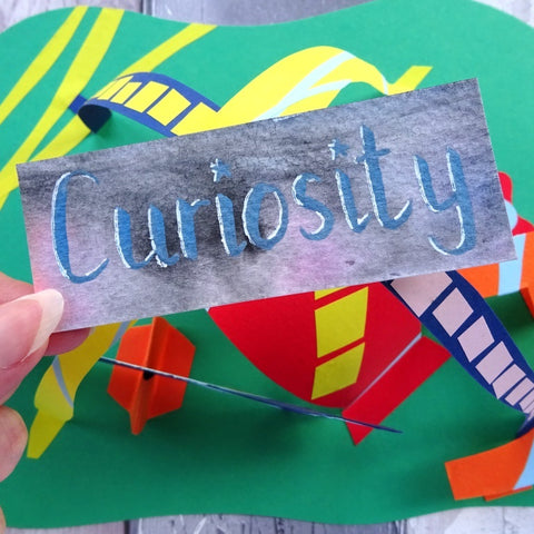 Curiousity - A blog post by Paperbuzz