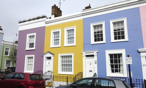 Rainbow Houses in London