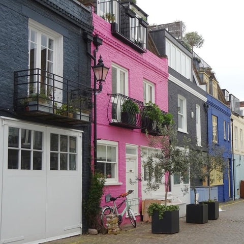St Lukes Mews in Notting Hill, London