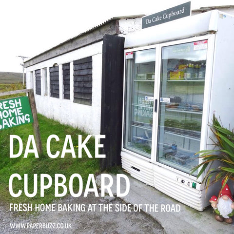 Da Cake Cupboard, The Cake Fridge, Shetland - A blog post by Paperbuzz