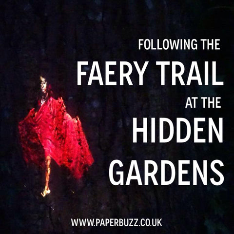 The Faery / Fairy Trail at the Hidden Gardens, Glasgow