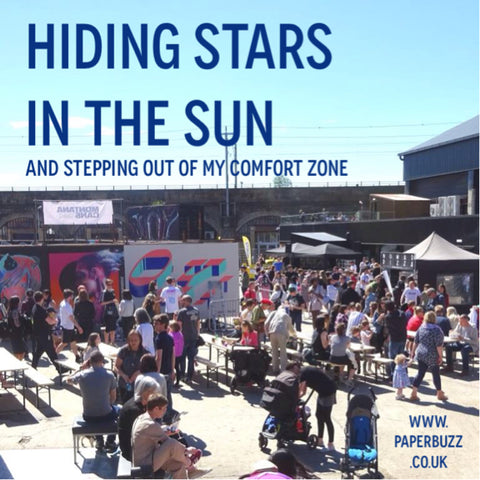 Hiding stars in the sun (at Yardworks) - A blog post by Paperbuzz