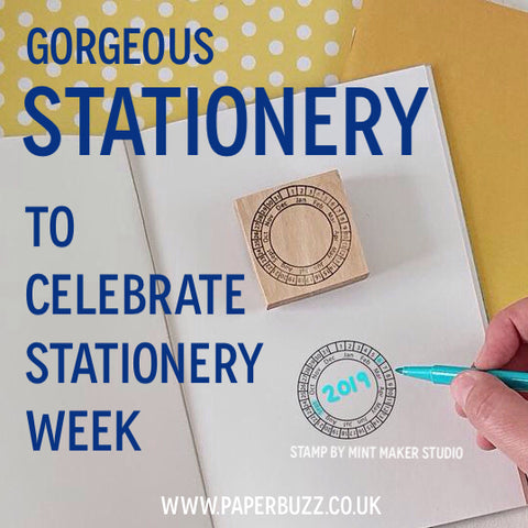 Gorgeous Stationery to celebrate Stationery Week 2019