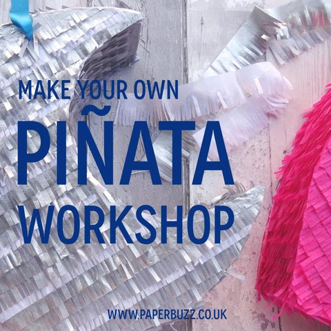 Pinata workshop by Paperbuzz