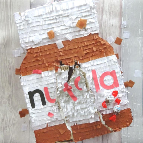 nutella pinata by Paperbuzz