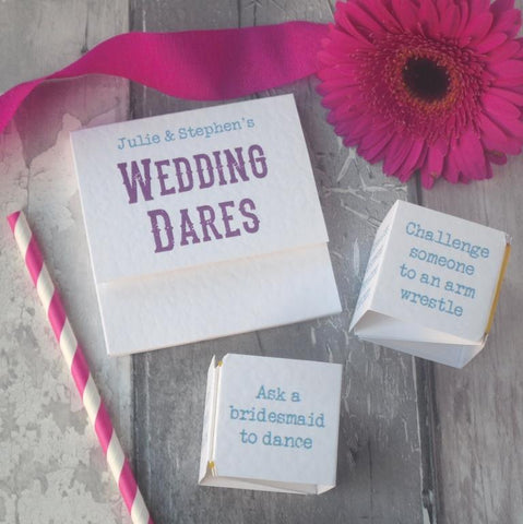 Wedding Dares Game