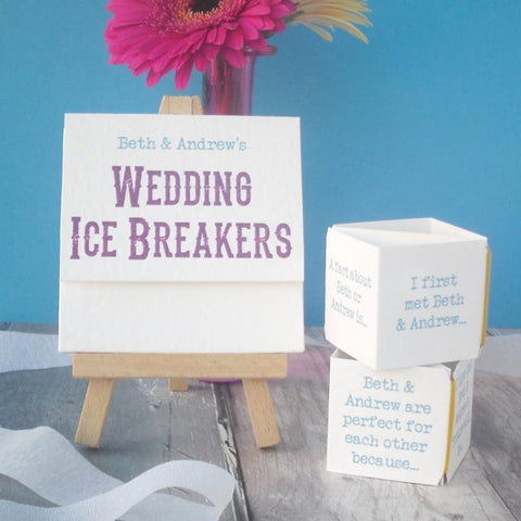 Wedding Ice Breakers Game